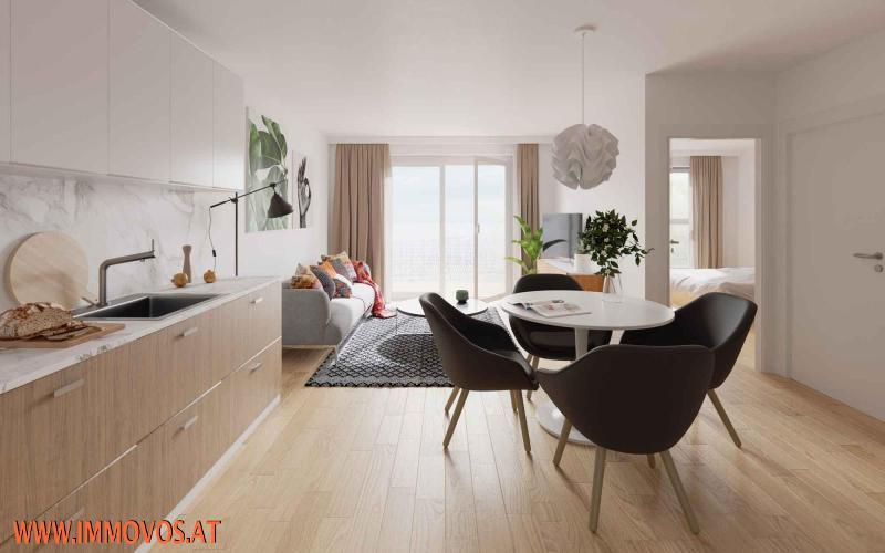 3-Zimmer-Wohnung mit Balkon - BEZUGSFERTIG SEP. 2021 - ENDNUTZER UND ANLEGER /  / 1210Wien 21.,Floridsdorf / Bild 6