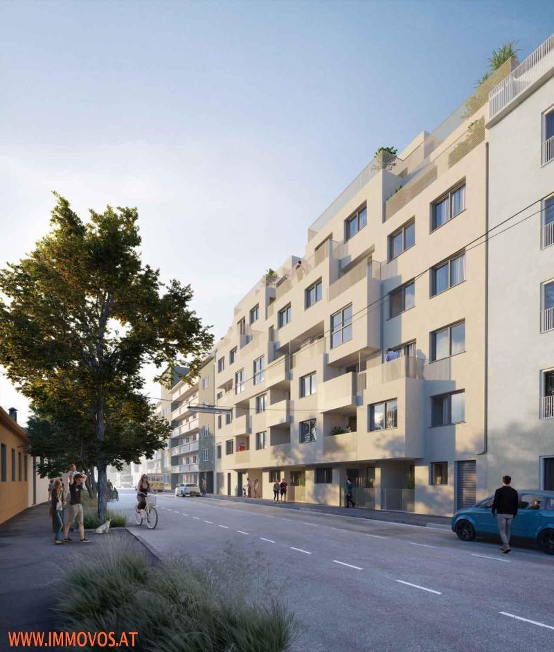BALKONWOHNUNG IN HOFLAGE - 2-ZIMMER + 13 m2 BALKON /  / 1210Wien 21.,Floridsdorf / Bild 1