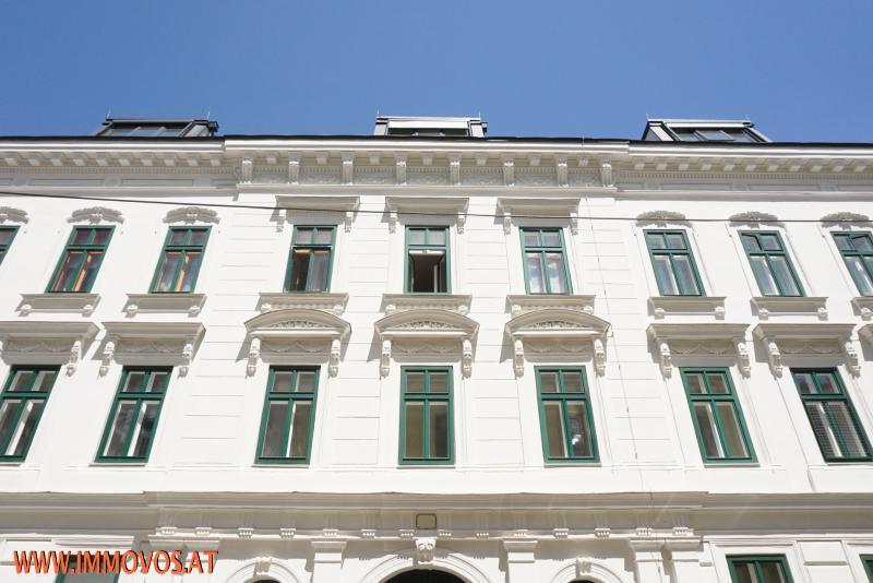 reich gegliederte Fassade