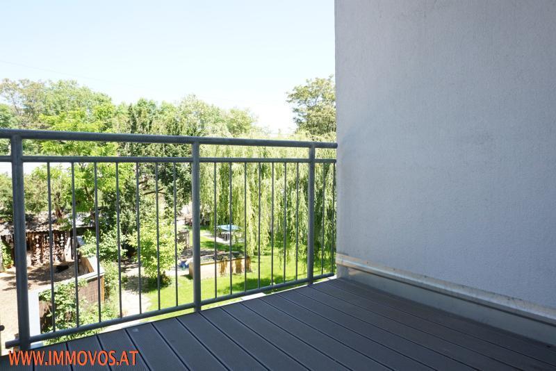 Balkon mit Hofblick