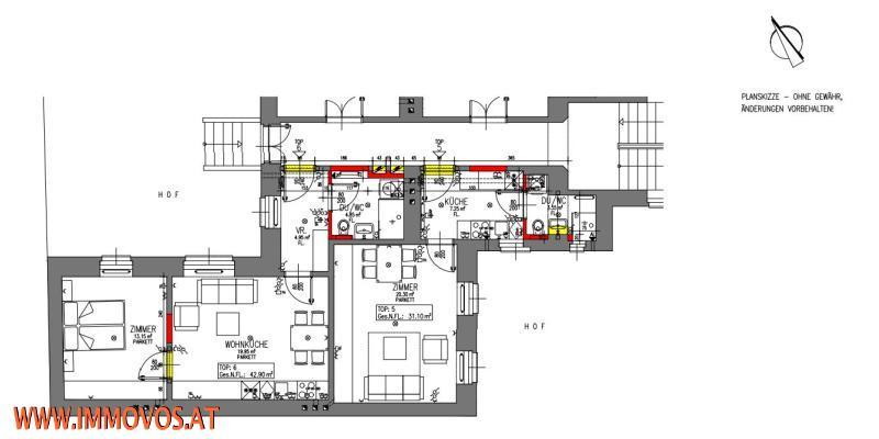 +NEU-TOPANGEBOT++ ZU HAUSE AM DIEPOLDPLATZ, 43M²-KERNSANIERTE 2-ZIMMERWOHNUNG,1170 WIEN /  / 1170Wien 17.,Hernals / Bild 0