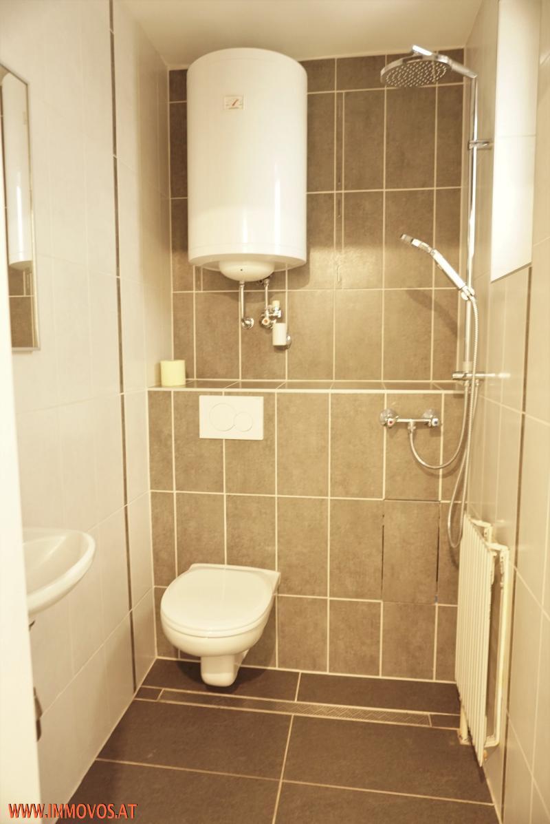 Sanitärbereich auf Wohnebene