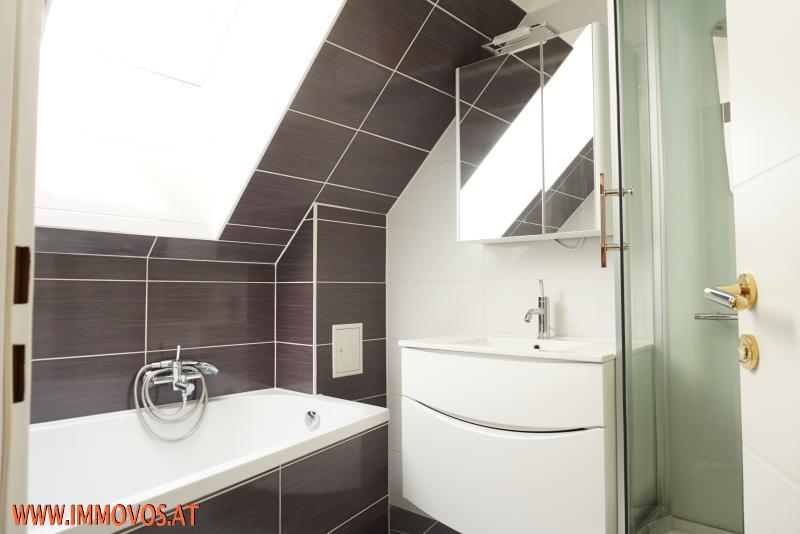 Badezimmer neben den 2 Schlafräumen