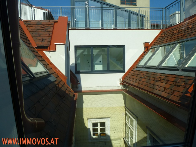 Penthouse - Innenhof