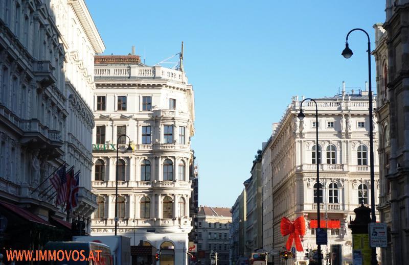 Perfekte Innenstadtlage - Blick zur Kärntnerstraße
