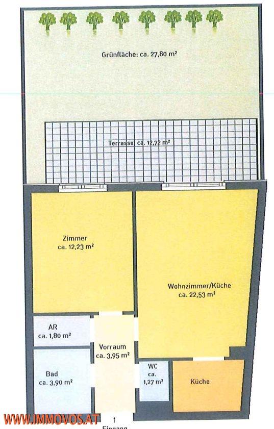 SOFORTBEZUG mit Terrasse, Eigengarten und Garagenplatz, VOLLMÖBLIERTE SPITZENNEUBAUWOHNUNG /  / 1050Wien 5.,Margareten / Bild 5