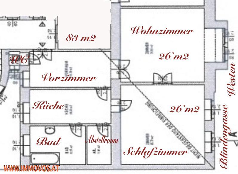 ***ALTBAUWOHNUNG*** /  / 1080Wien 8.,Josefstadt / Bild 3